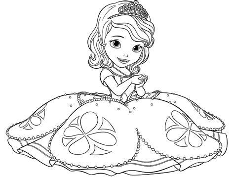 prenses sofia boyama sayfalari