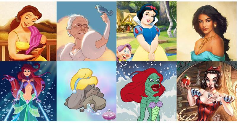 HowToBeADad.com - 23 Weird Re-imaginings of Disney ...
