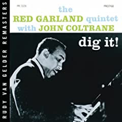 Red Garland with John Coltrane Dig It! cover