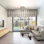 Astek Mood Living Wide Stripe Light Silver and White Wallpaper ...