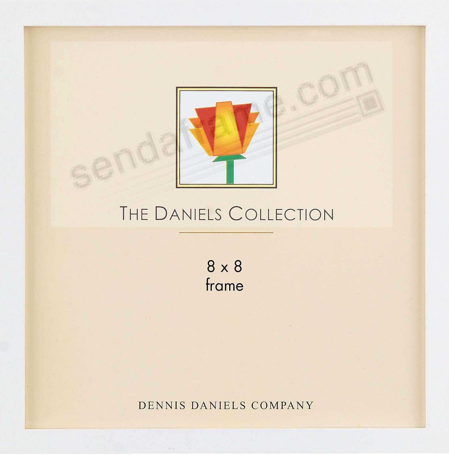 The Original Daniels W41 Square Corner Gallery Woods Bright White