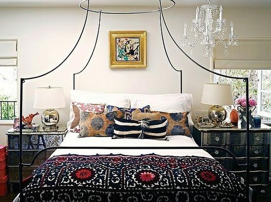 Boho Chic Bedroom - Boho Chic Bedroom Theme - SweetHomeDesignIdeas.