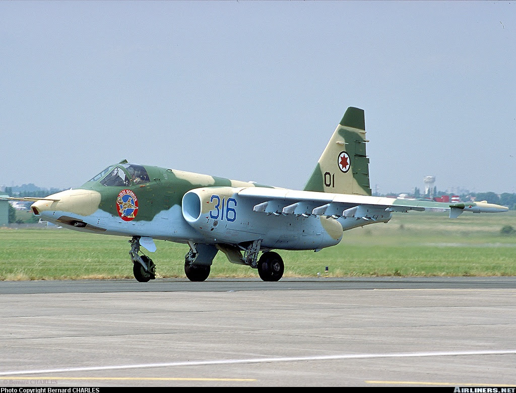 Sukhoi Su-25... aircraft picture