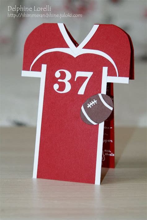 Shimmer and Shine   American Football jersey card   #