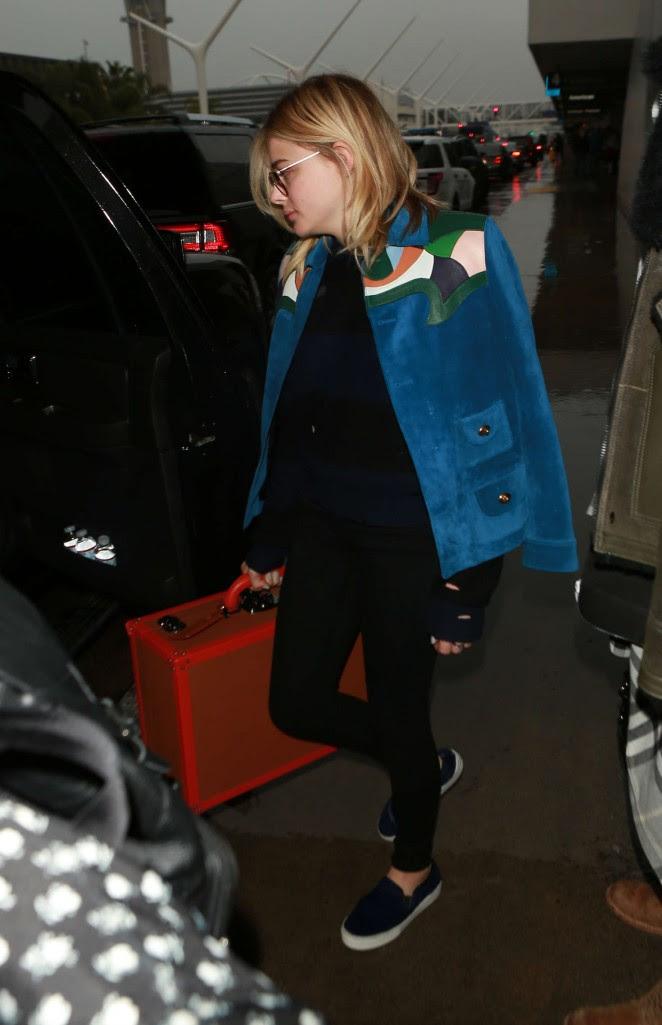 Chloe Moretz: Arrives at LAX Airport -03