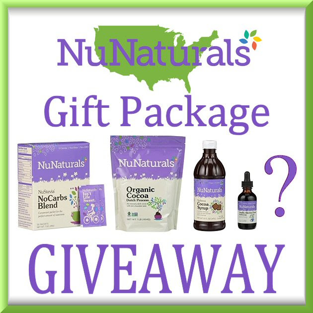 Enter the NuNaturals Gift Package Giveaway. Ends 10/18