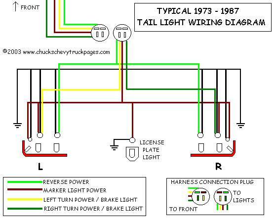 Chevrolet C/K 3500 Questions - repair backup lights wiring ...