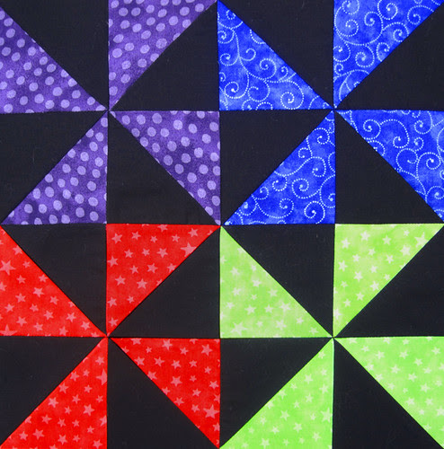 Pinwheel Party Block 6