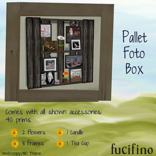 [fucifino] Pallet Foto Box