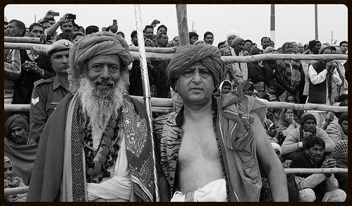 My Naga Guru And Me - Maha Kumbh 2013 by firoze shakir photographerno1