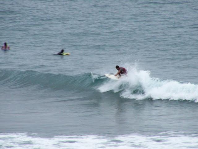 Sesión de surf del 18 de Julio del 2007 - Sopelana
