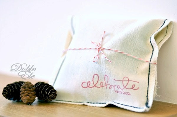 Celebrate Woo Hoo - Eco Friendly Cotton Bag