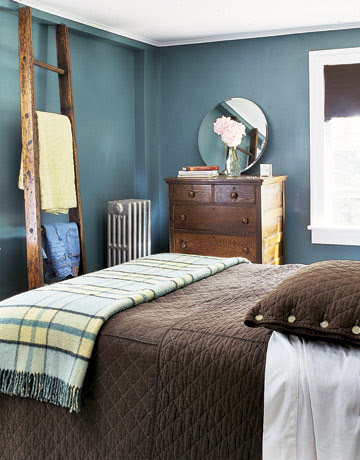 Color Series: Decorating With Blue And Brown | Rustic Crafts ...