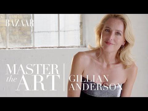 Gillian Anderson on How to get Into Character   Bazaar UK