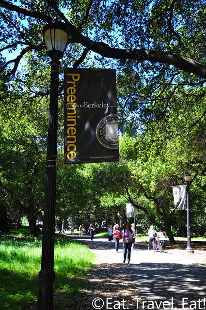 UC Berkeley, Berkeley, CA- Signs/ Nature Path