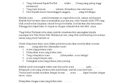 Kumpulan Contoh Pembawa Acara Khitanan Bahasa Indonesia