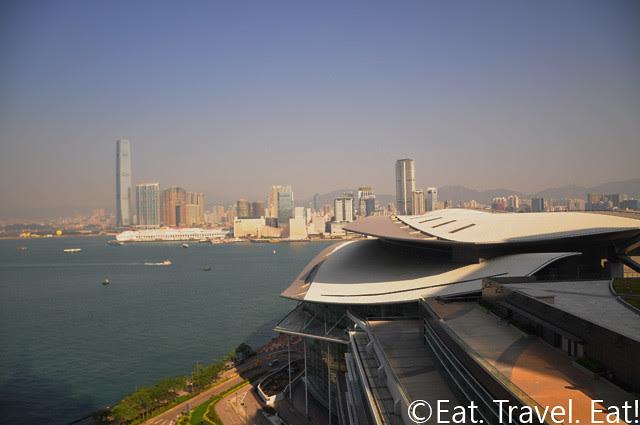 Hong Kong Harbour View from Grand Hyatt Hong Kong