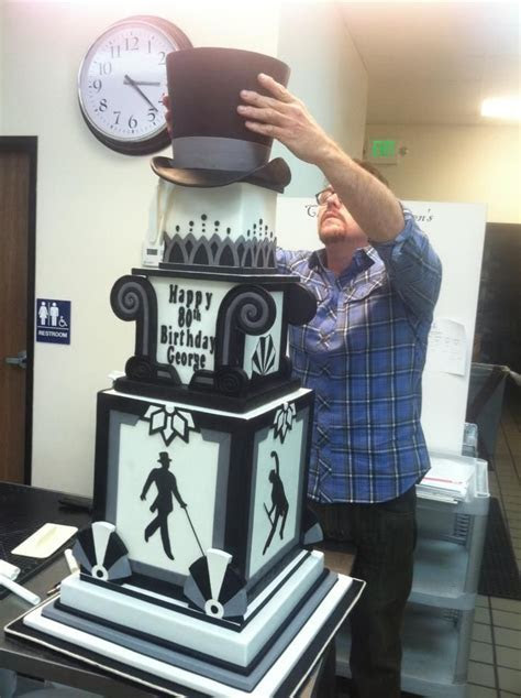 Just because it's an awesome cake!   Men's Birthday/Groom