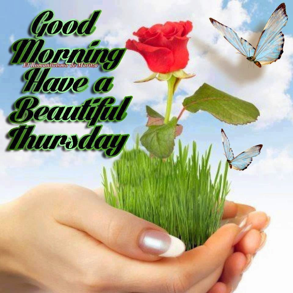 Good Morning Have A Beautiful Thursday Quote Pictures Photos And