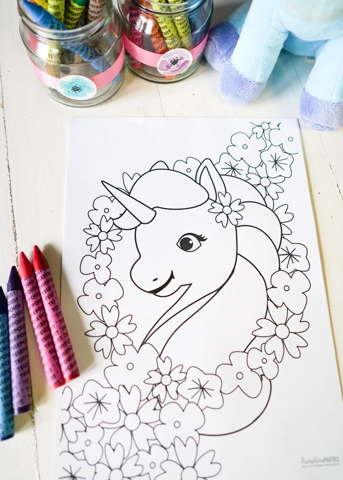 Kara's Party Ideas Pastel Unicorn Birthday Party | Kara's ...
