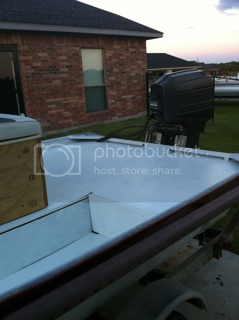18' Lowe center console flat bottom rebuild - Page 3 ...
