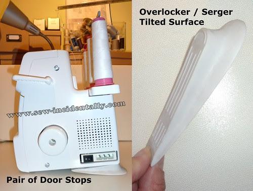 02, Door Stops - Serger, Overlocker Tilting