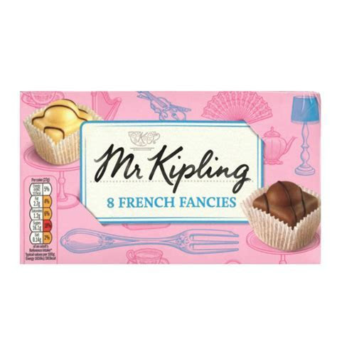 Mr Kipling French Fancies 8pk   Cakes, Groceries
