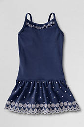 Girls' Cape May Cutie Eyelet One Piece Swimsuit