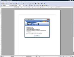 OpenOffice.org 3.0 : SORTIE OFFICIELLE !!!