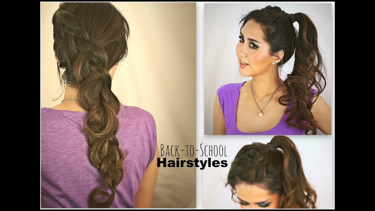 Cute School Hairstyles For Short Hair Short Hairstyles For Women