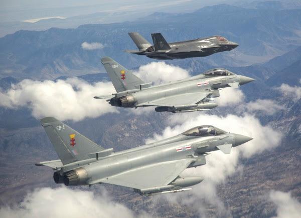 F-35, el tifón