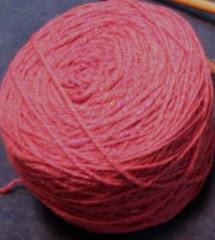 red yarn