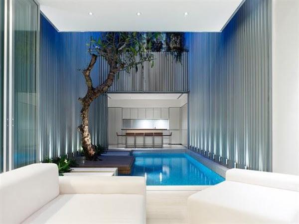 Swimming Pool Entertainment Areas