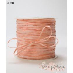 Рафия от May Arts, цвет оранжевый, 90см