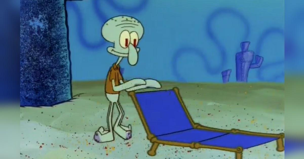 Squidward Chair Meme Blank