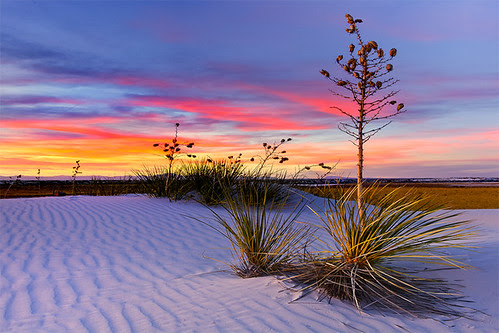 White Sands NM Sunset