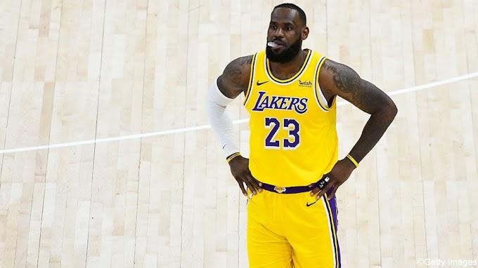 LeBron James kan het niet alleen: 4e nederlaag op een rij voor de Lakers