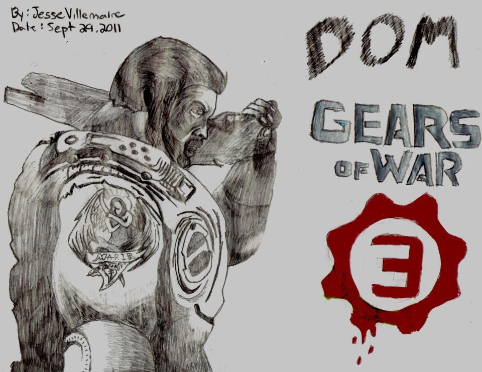 Gears Of War Drawing At Getdrawingscom Free For Personal Use