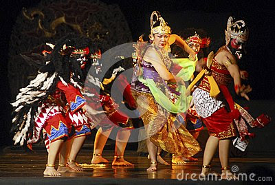 INDONESIA WAYANG WONG PERFORMANCE THEATRICAL DANCE CULTURE Editorial Photography  Image: 50368767