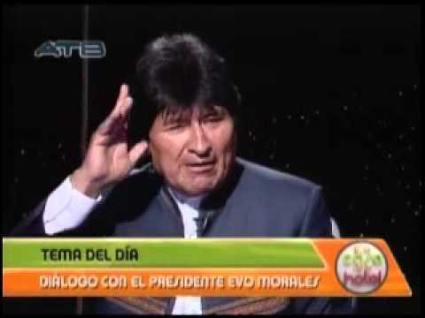 Evo Morales habla de su gestión y programa de gobierno en Esta Casa No Es Hotel por ATB, bloque 4