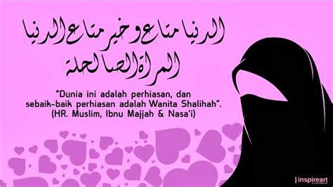 kata mutiara islam tentang wanita  wascom  wascom