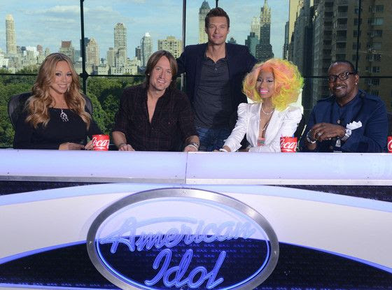 American Idol (2012 Panel), Nicki Minaj, Mariah Carey