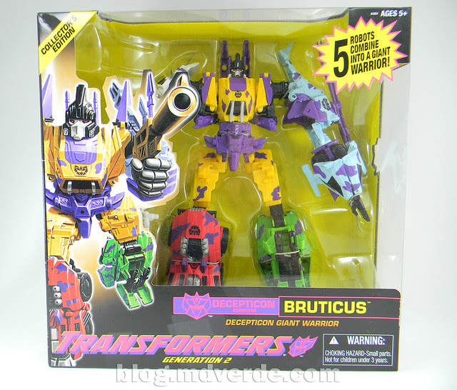 Transformers Bruticus G2 Fall of Cybertron - modo
