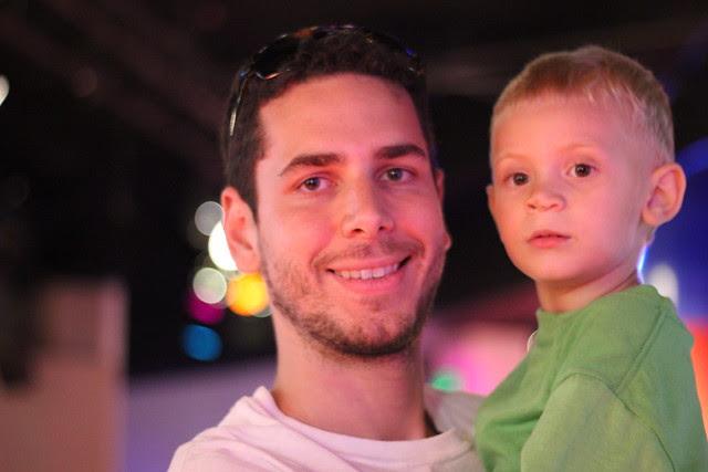EPCOT for stephen's third birthday