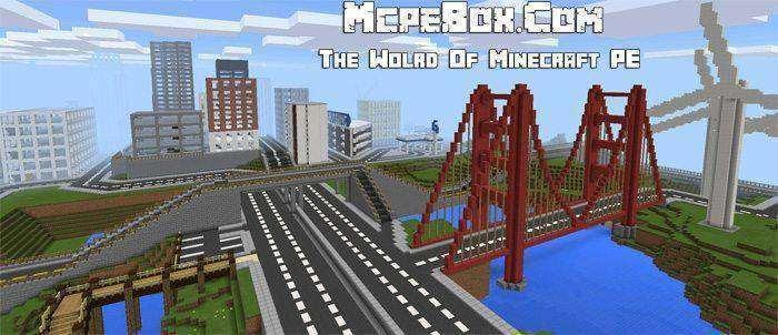 Little City Map Creation For Minecraft Pe  7 Mcpe Box