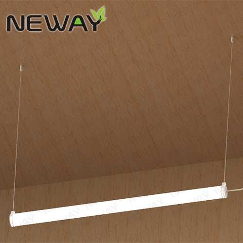 36w 70mm Dia 1200mm 360 Degree New Pipeline Led Linear Pendant Lights Suspension Hanging Led Pipeline Light Lamp Modern Led Pipeline Restaurant Pendant Lighting Led Pipeline Pendant Light Pendant Lamp Manufacturer Supplier Factory Neway Lighting Int L