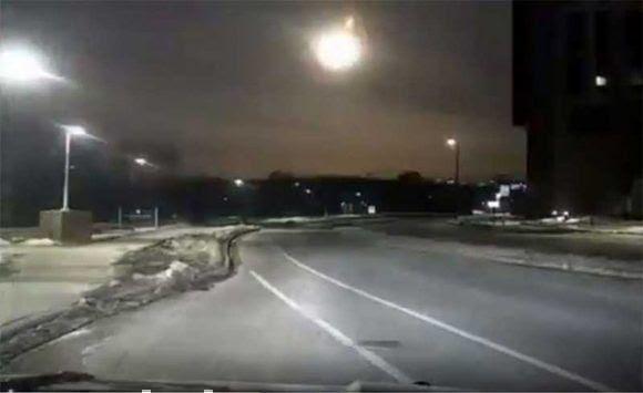 Resultado de imagen para cae meteorito en detroit