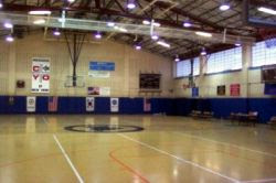 Basketball court at West Bronx Recreation Center