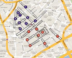 Map Shop Covent Garden Covent Garden Shop Map
