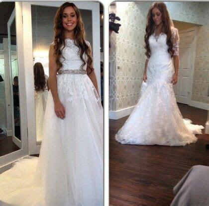 Jessa wedding dress shopping   jessa duggar wedding in